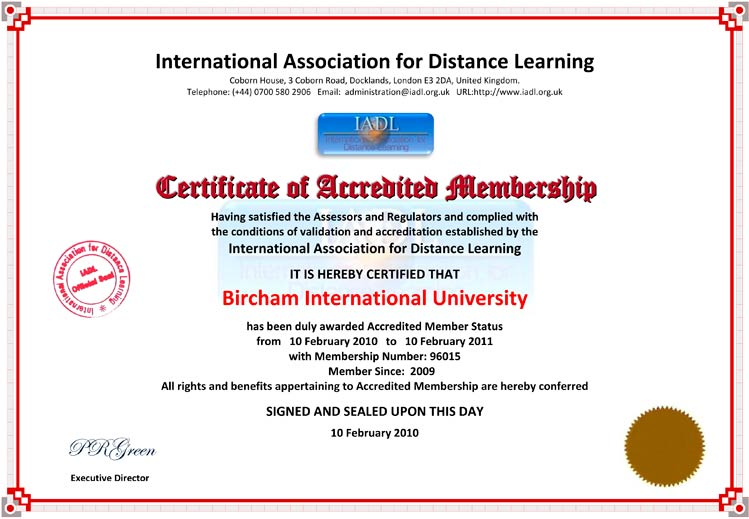 IADL - International Association for Distance Learning (UK)