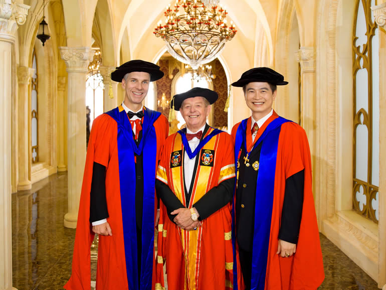 Bircham International University Founders