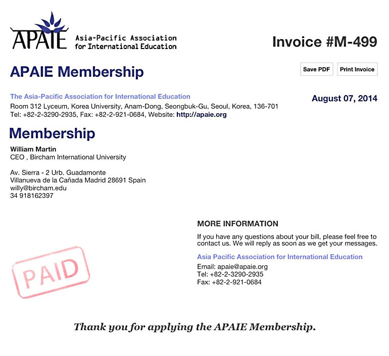 APAIE - Asia-Pacific Association for International Education