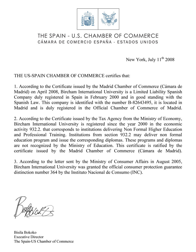 US-Spain Chamber of Commerce