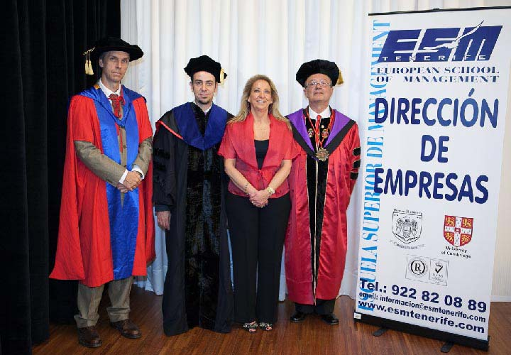 Bircham University 2012 Spain ESM Tenerife Graduation
