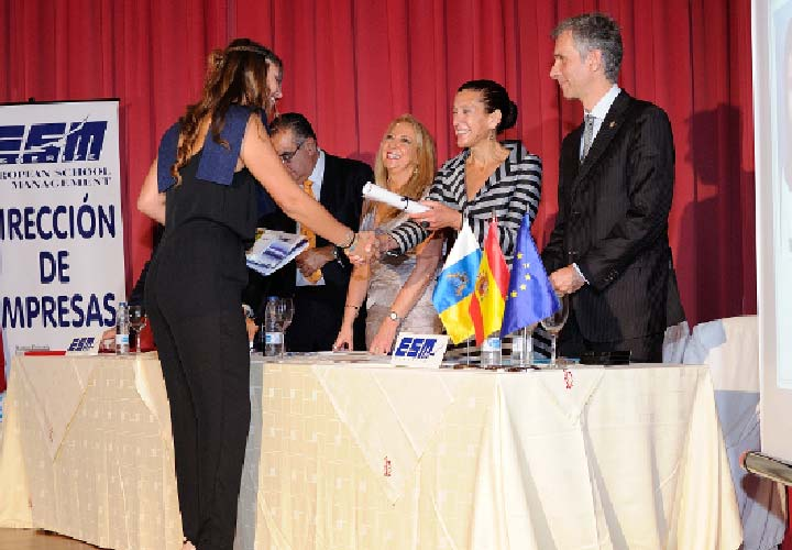 Bircham University 2015 Spain ESM Tenerife Graduation