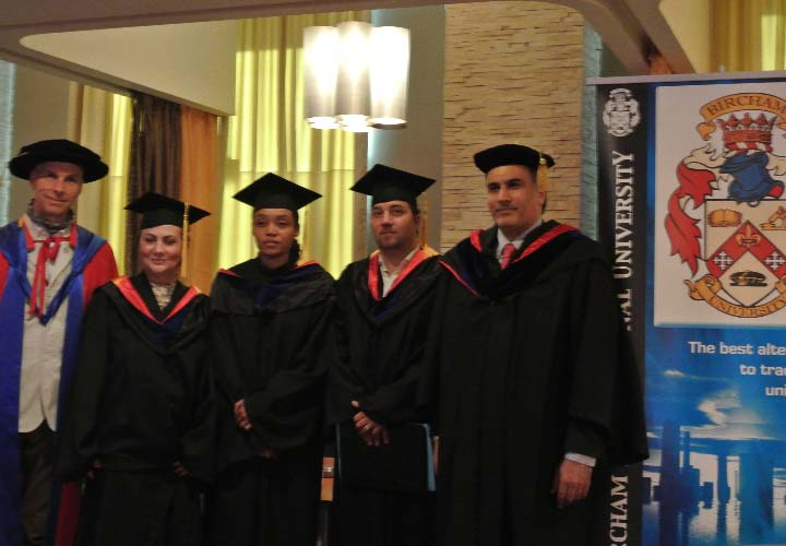 Bircham University 2015 UAE Dubai Graduation
