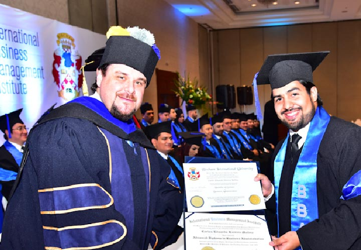 Bircham University 2016 El Salvador IBMI Graduation