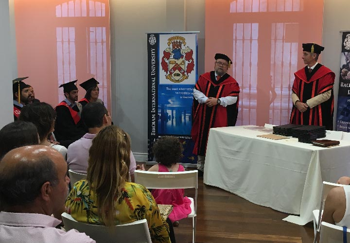 Bircham University 2017 Spain Valladolid Graduation