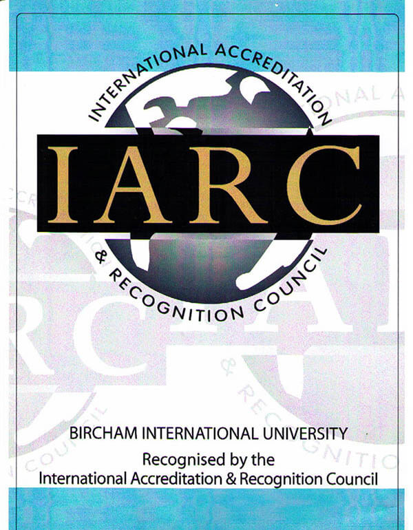 Bircham University IARC - International Accreditation & Recognition Council